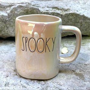 Rae Dunn SPOOKY Double-Sided Iridescent Mug